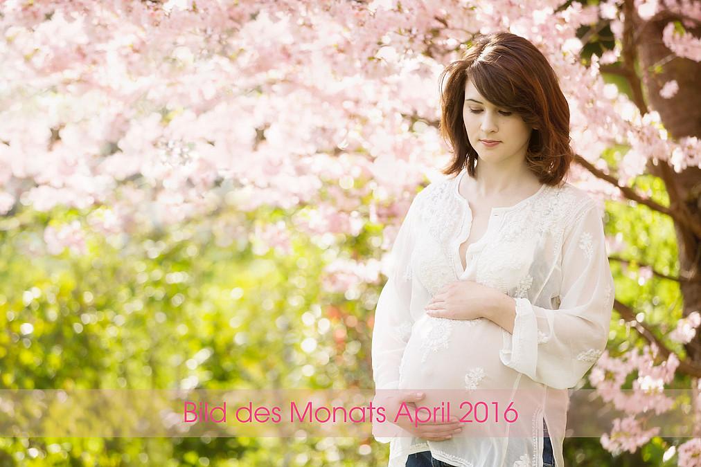 Schwangerschaftsfotos im Freien in München