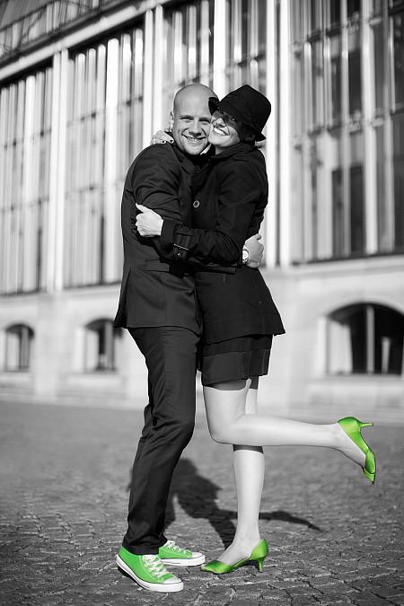 Engagementshooting Hofgarten München