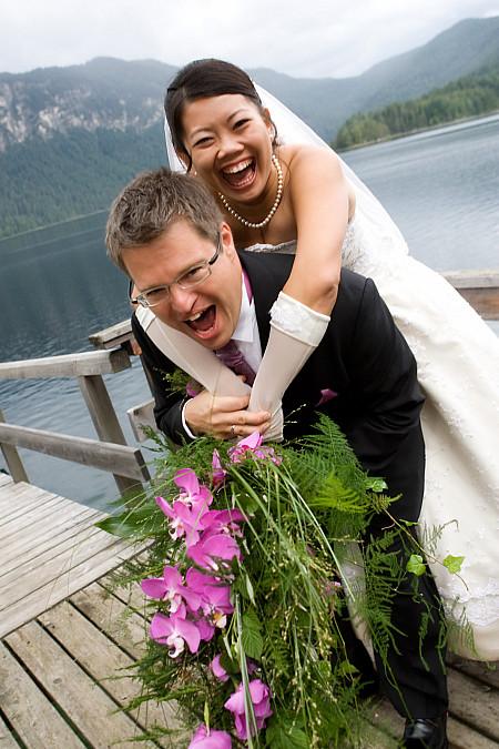 Hochzeitsporträts Eibsee