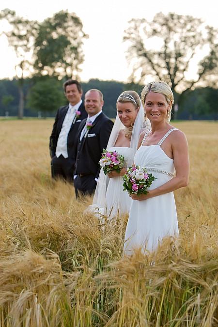 Hochzeitsfotograf Doppelhochzeit Möschenfeld