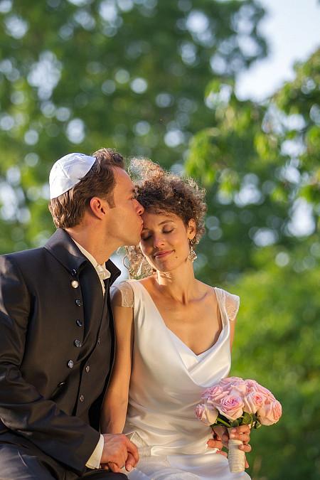 jüdische Hochzeitszeremonie