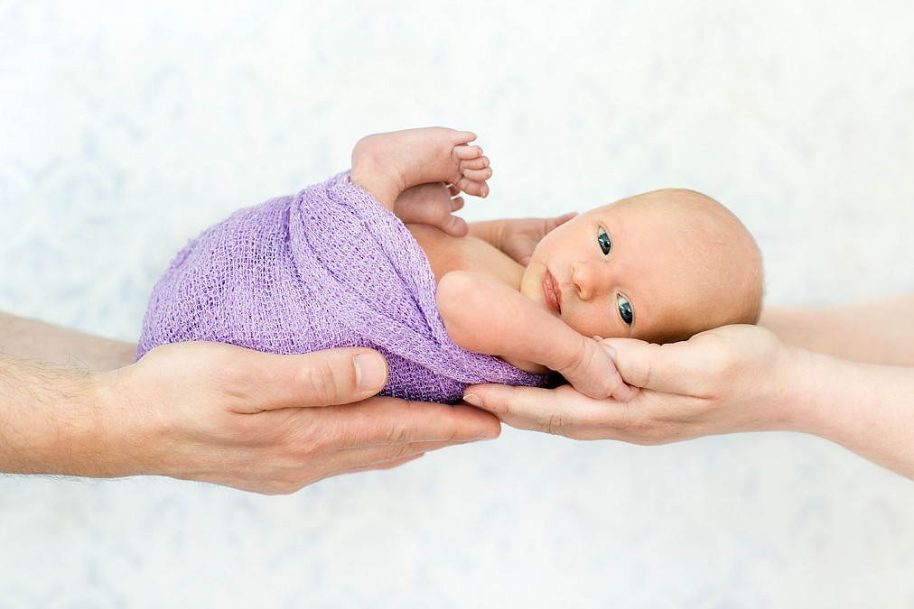 Neugeborenenfotografie Schwabing