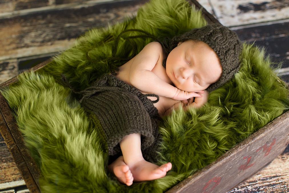 erfahrener Babyfotograf in München Nymphenburg