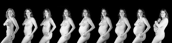 Schwangerschaftsfotos 9 Monate